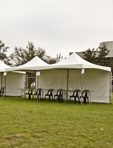 6x6m Marquee