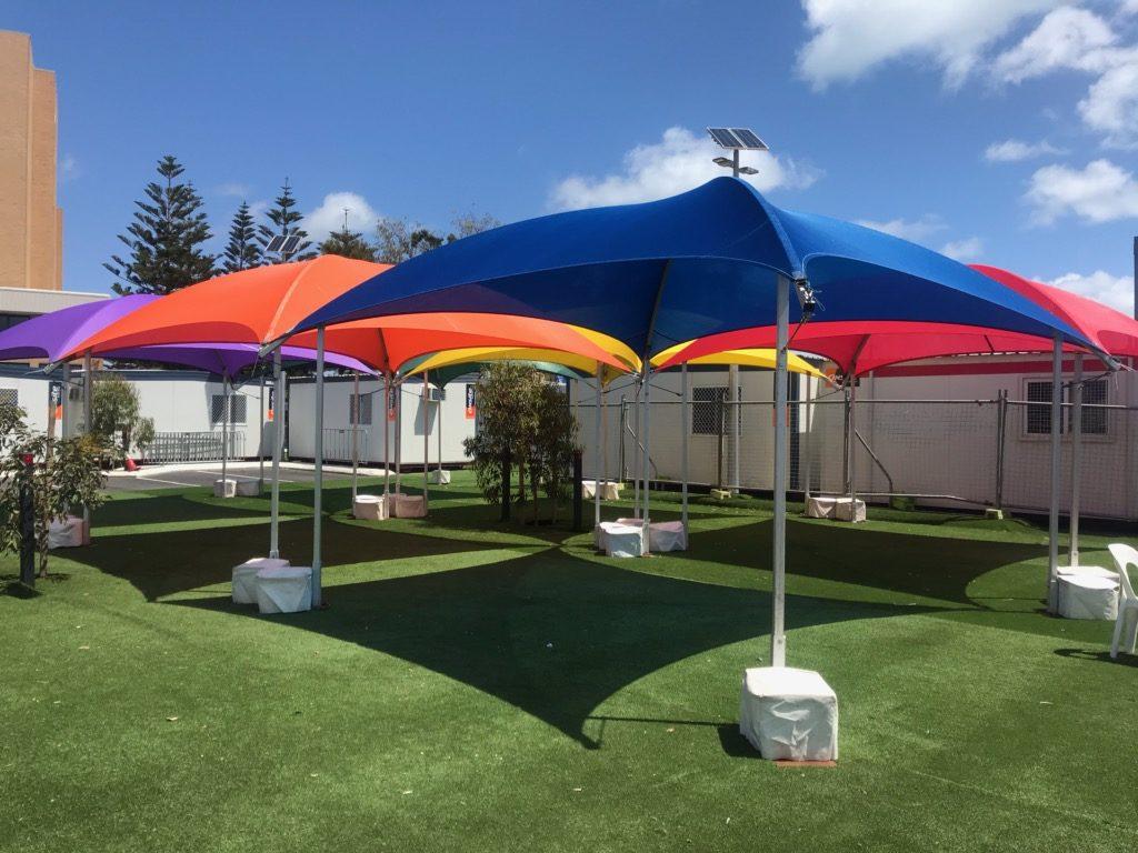 6x6m Shade Domes