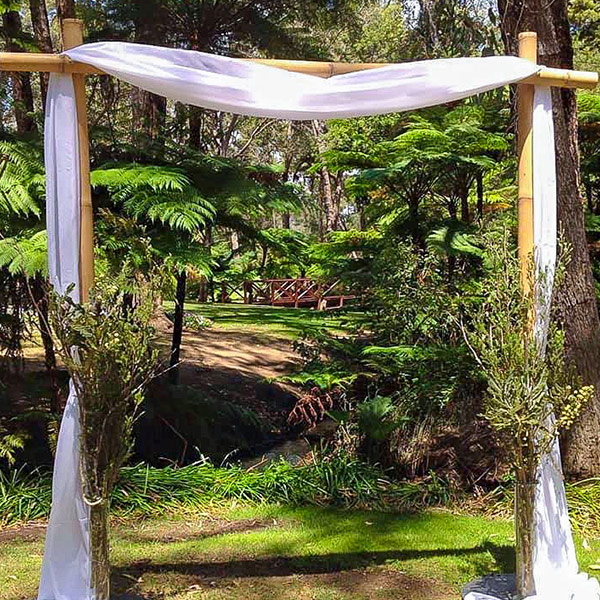 Wedding Arbour Bamboo Carlisle Events Hire