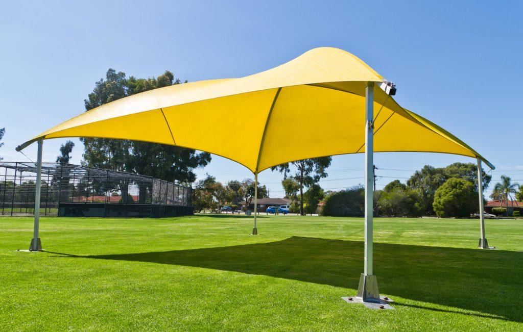 8x8 Shade Dome Yellow