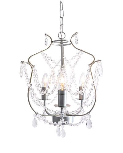 Light chandelier kristaller 3 arm led carlisle events hire light chandelier aloadofball Image collections