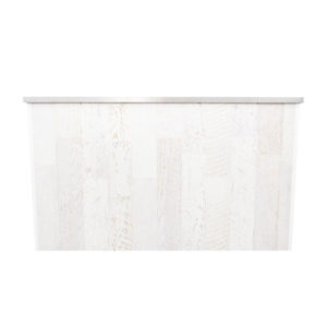 Whitewash Wooden Bar