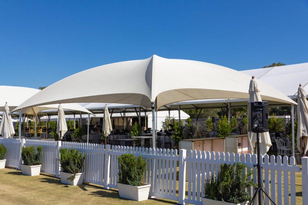 8x8m Shade Dome White
