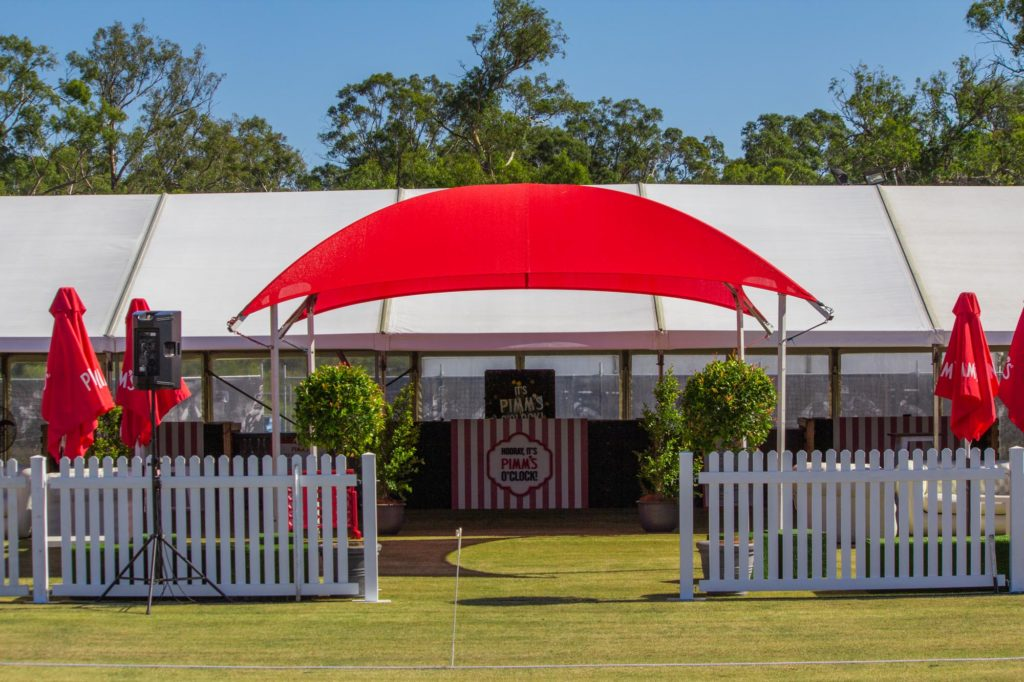 6x6m Shade Dome Red