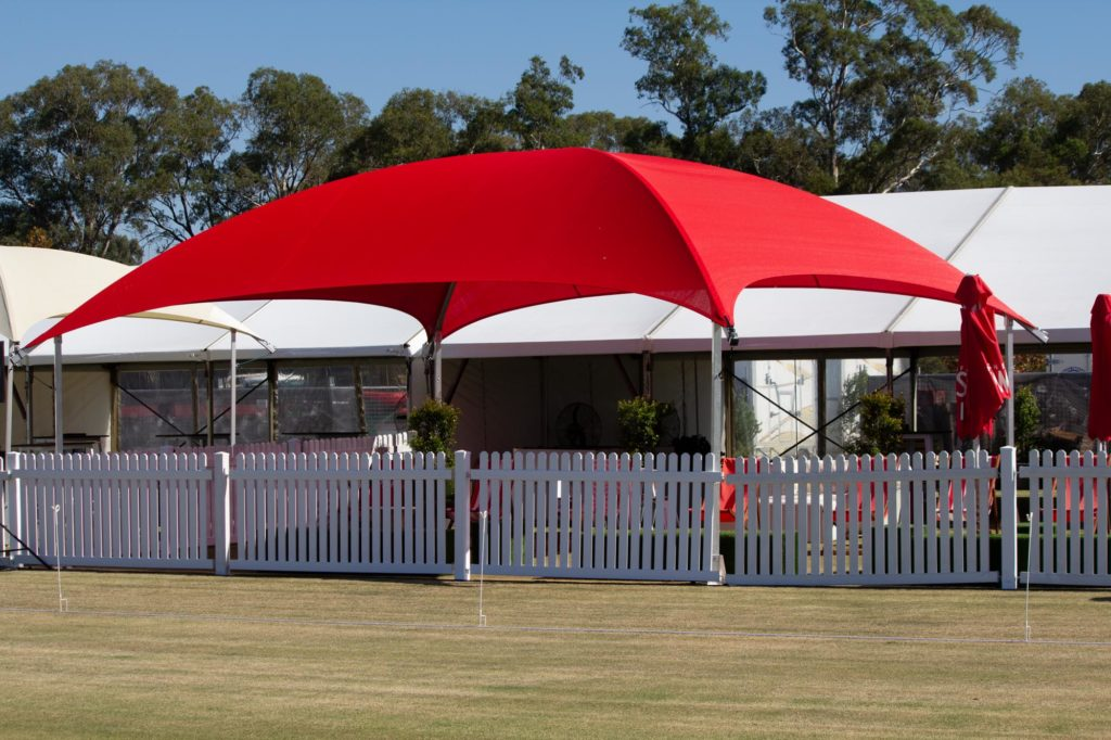 8x8m Shade Dome Red