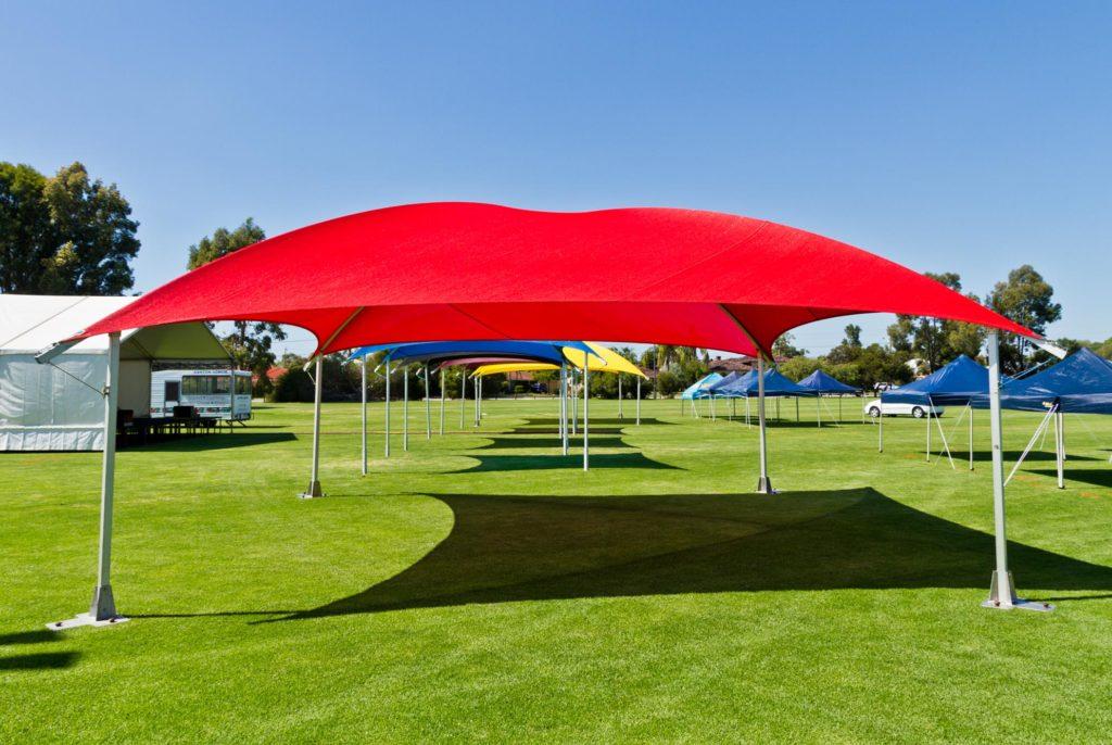 8x8m Shade Domes