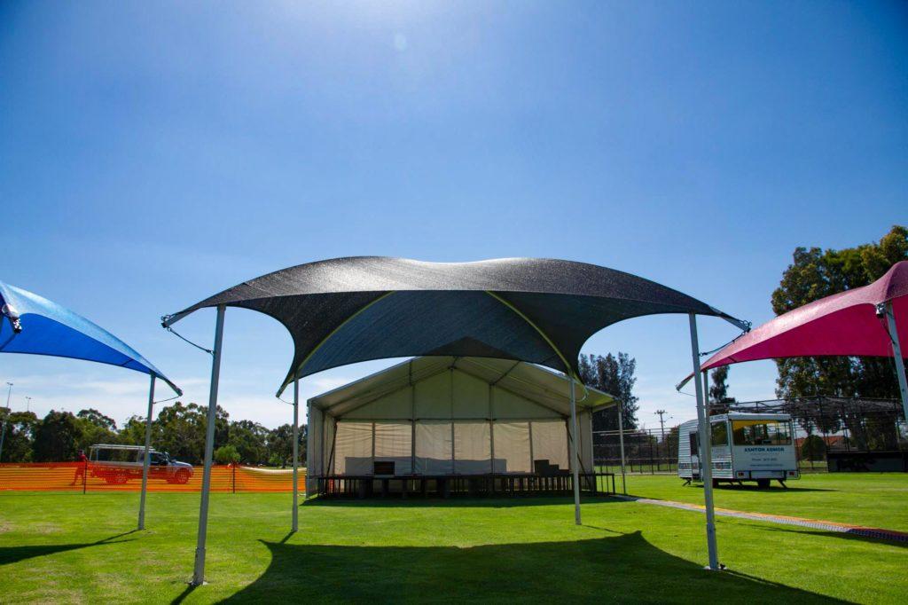 6x6m Shade Dome Black