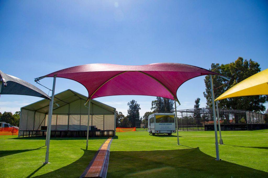 6x6 Shade Dome Maroon