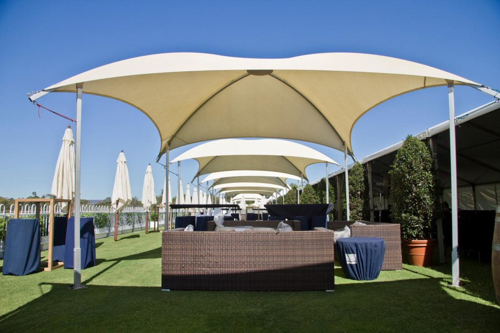 Polo in the Valley - shade domes